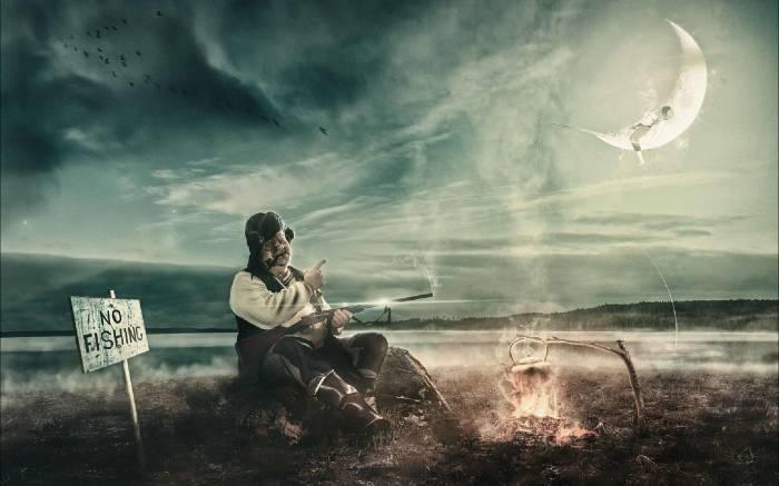 Рыбалка запрещена. Автор: Juhamatti Vahdersalo.