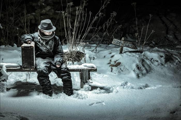 В ночь перед Рождеством. Автор: Juhamatti Vahdersalo.