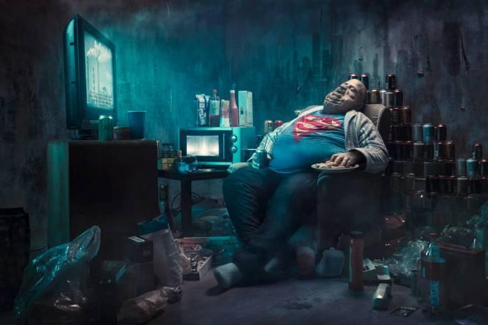 Супермен в отставки. Автор: Juhamatti Vahdersalo.