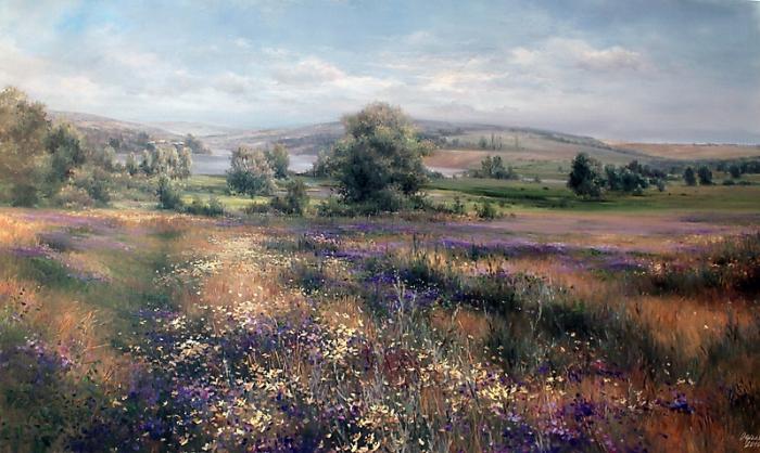 Роскошные пейзажи в работах Ольги Одальчук (Olga Odalchuk).