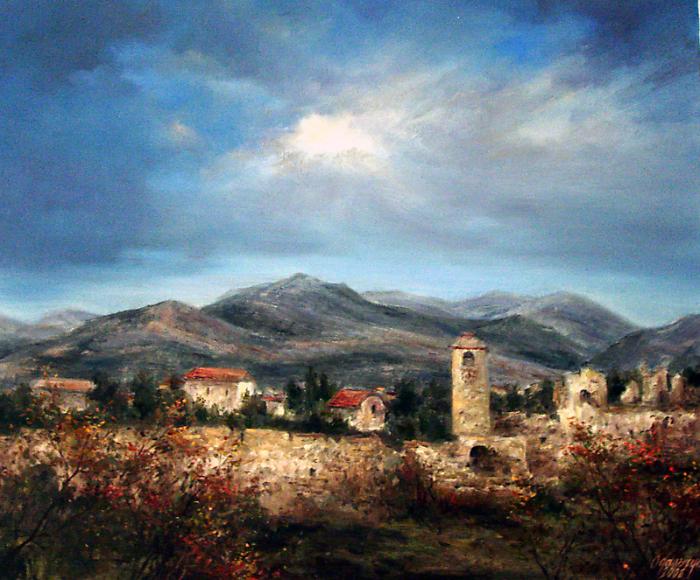 Живописные картины Ольги Одальчук (Olga Odalchuk).