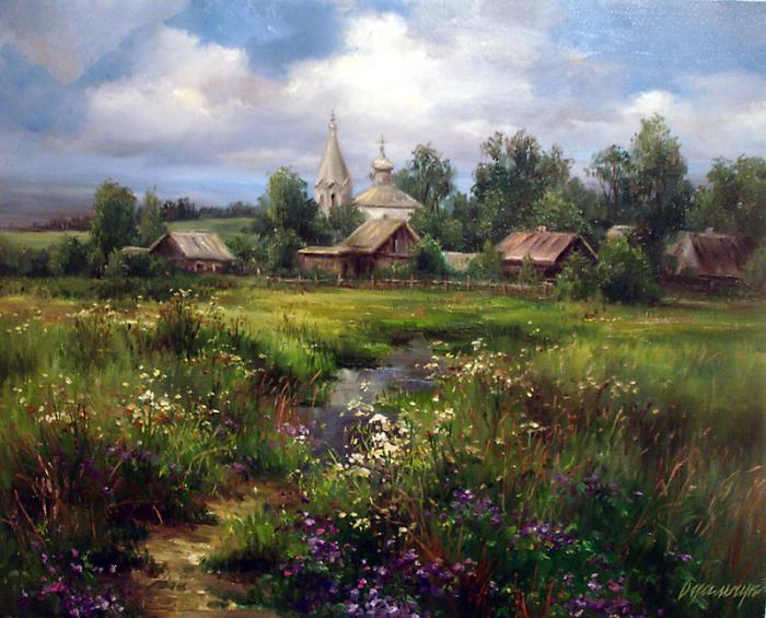 Тёплые и уютные работы Ольги Одальчук (Olga Odalchuk).