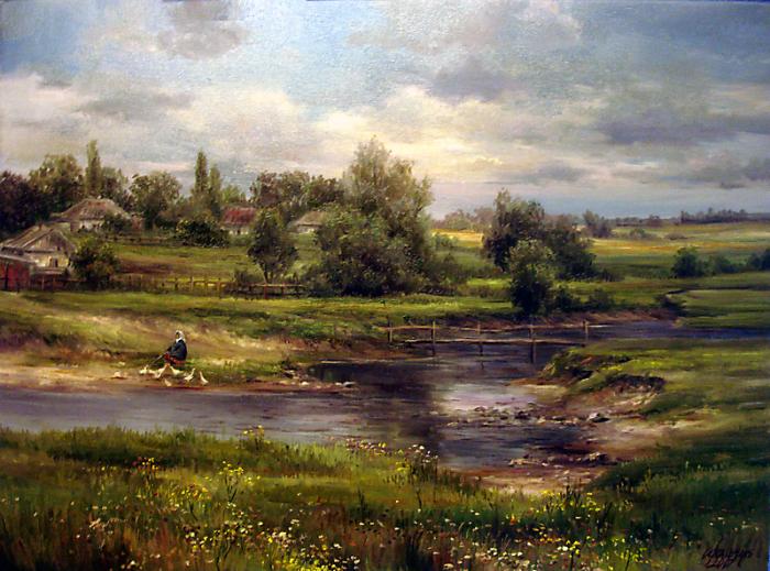Душевные работы Ольги Одальчук (Olga Odalchuk).