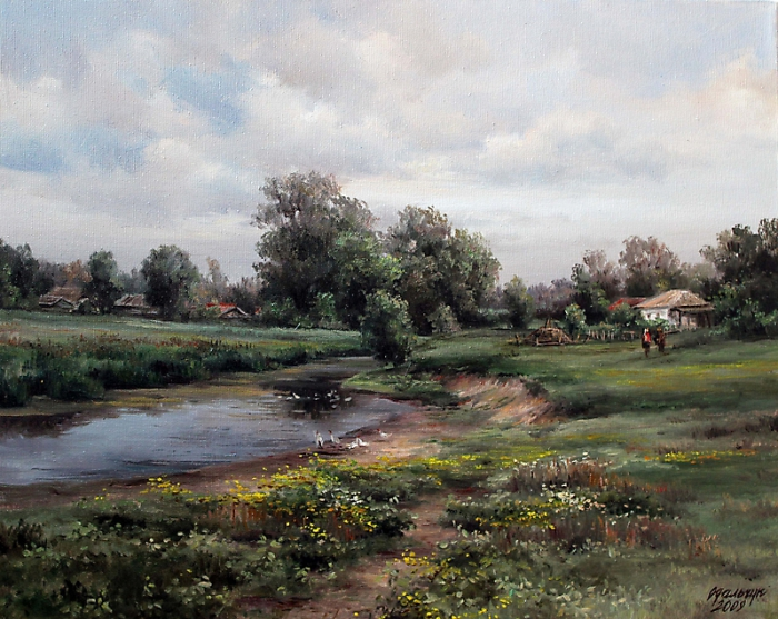 Картины Ольги Одальчук (Olga Odalchuk).
