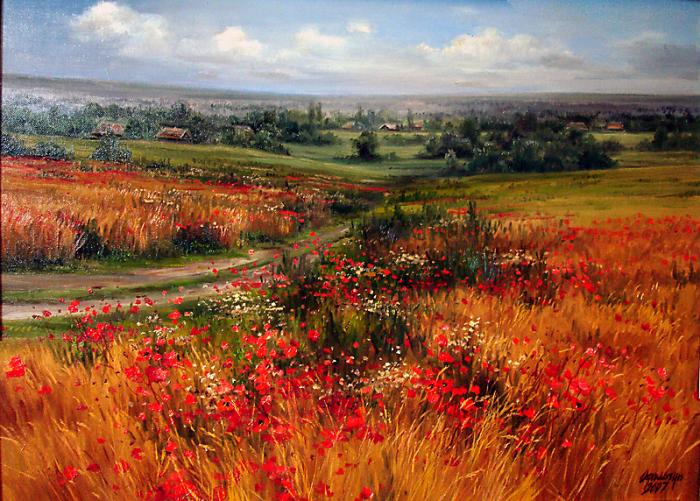 Яркие картины Ольги Одальчук (Olga Odalchuk).