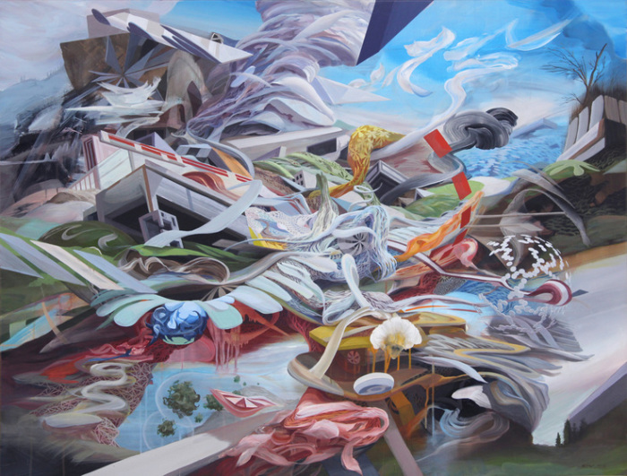 Затерянная Земля. Автор: Oliver Vernon.