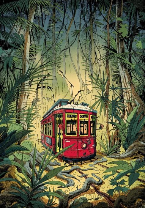 Путешествие по Новому Орлеану. Автор: Olivier Bonhomme.