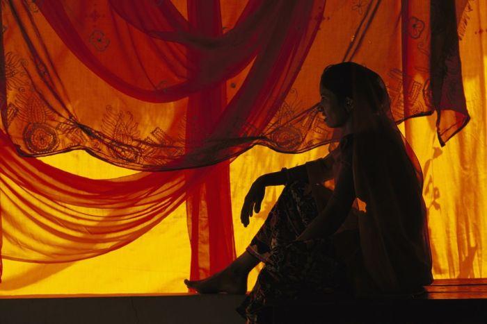 Дасада, Индия.  Автор: Olivier Follmi.