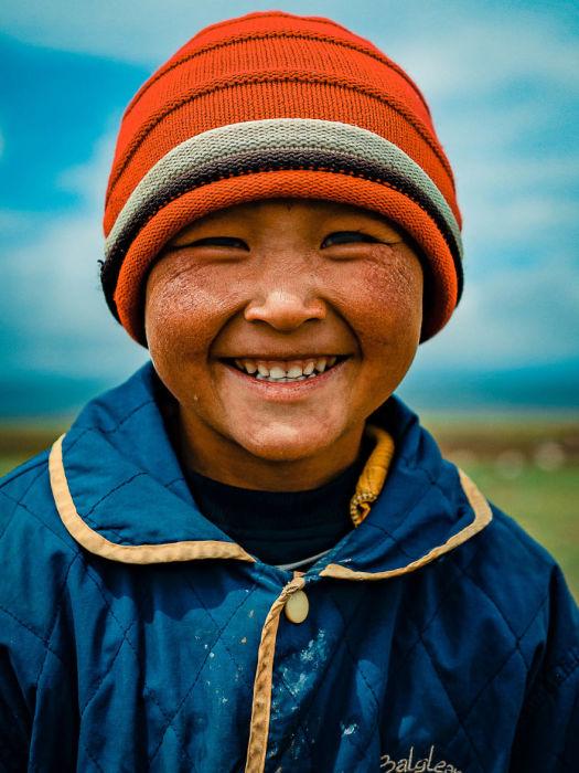 Жизнерадостная улыбка. Автор: Omar Reda.