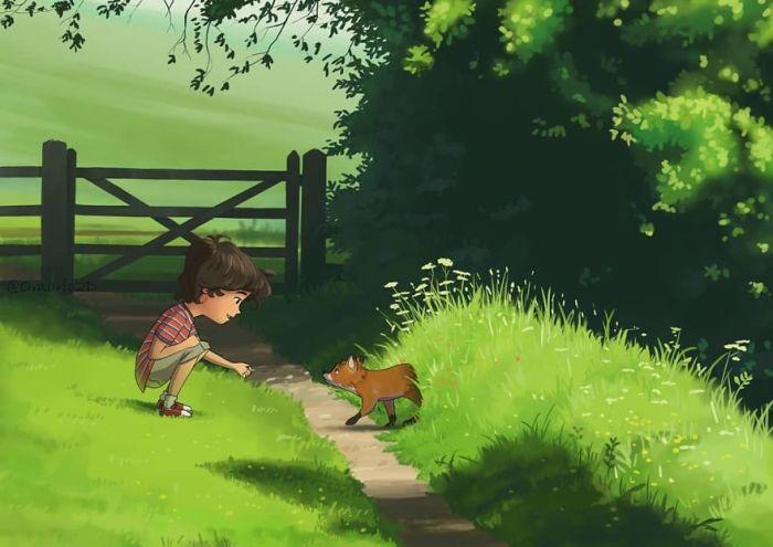 Позитивные иллюстрации о том, как же это здорово - быть ребёнком