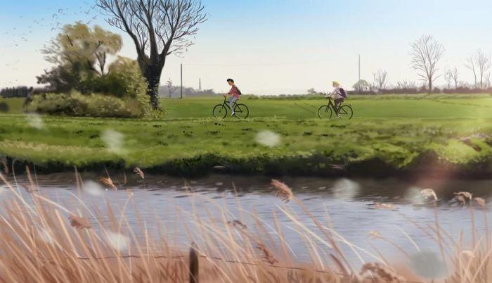 Прогулка на велосипедах. Автор: Omario2d.