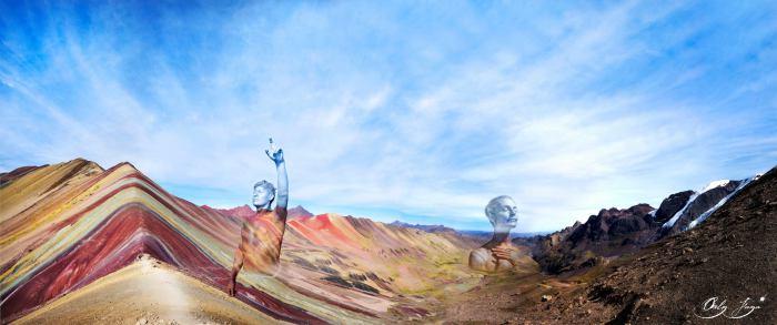 Люди, как горы. Автор: Orly Faya.