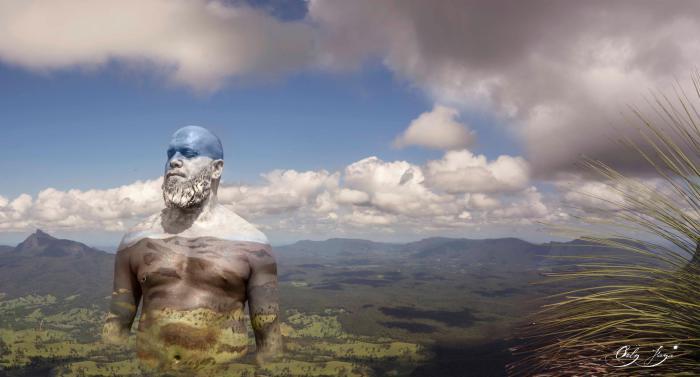 Боди-арт картины, в которых человек гармонирует с природой. Автор: Orly Faya.