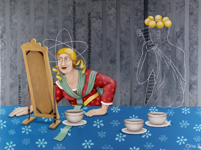 Мир в себе. Картины израильского художника Орна Бен-Шошан (Orna Ben-Shoshan).