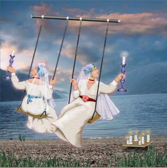 ��� ������� (Two Brides). ��� � ����. ������� ������������ ��������� ���� ���-����� (Orna Ben-Shoshan).