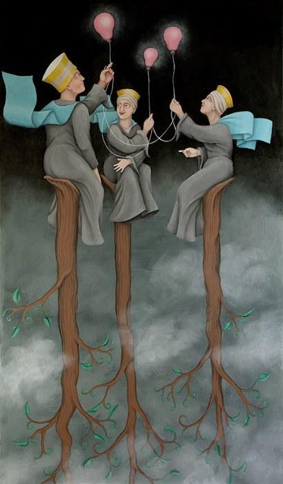 ��� ������������� ������ (Three Optimistic Angels). ��� � ����. ������� ������������ ��������� ���� ���-����� (Orna Ben-Shoshan).