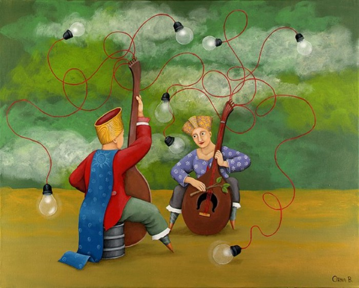 ���� � ����� (Sound to Light). ��� � ����. ������� ������������ ��������� ���� ���-����� (Orna Ben-Shoshan).