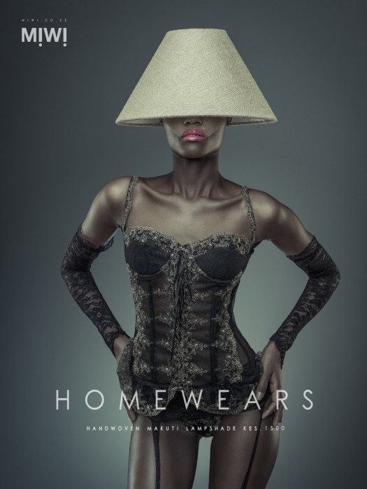 Абожур для лампы. Серия фотографий для магазина MIWI. Автор фото: Осборн Махария (Osborne Macharia).