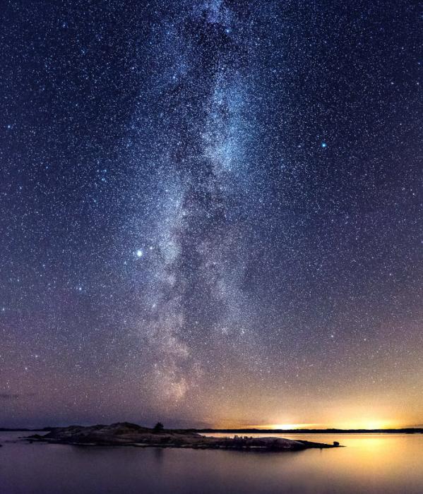 Финские ночи. Автор: Oscar Keserci.