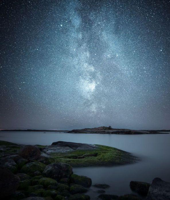 Млечный путь. Автор: Oscar Keserci.