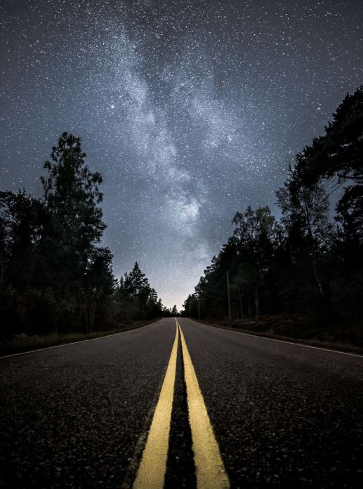 Звёздный путь. Автор: Oscar Keserci.