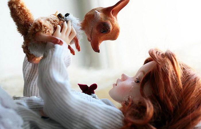 В мире игрушек. Автор: Oso Polar.