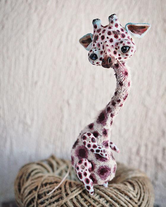 Жираф. Автор: Oso Polar.