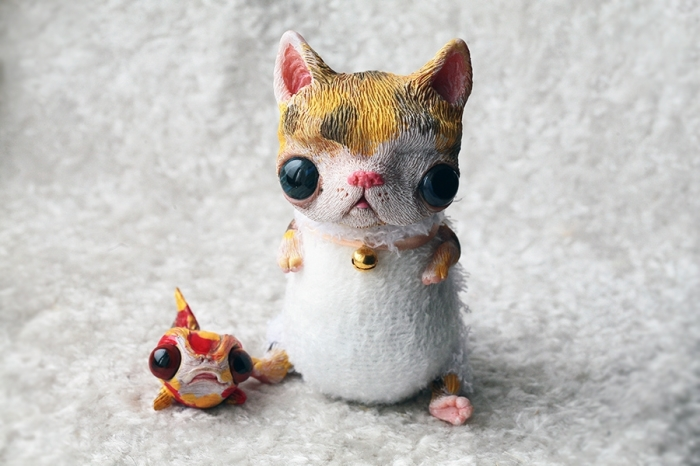 Рыбка для кота. Автор: Oso Polar.