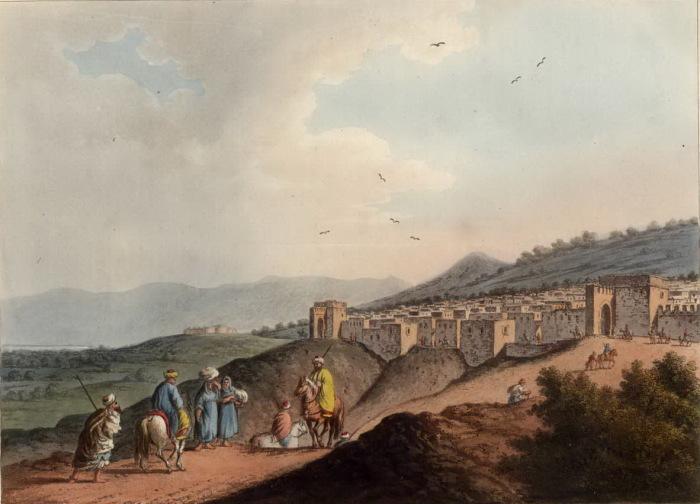 Город Вифлеем. Луиджи Майер. (Вторая половина 18 века).