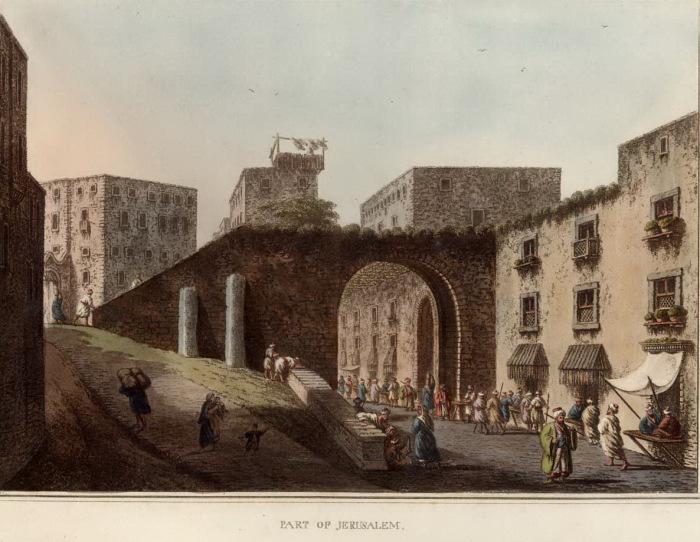Иерусалим. Луиджи Майер. ( вторая половина 18 века).