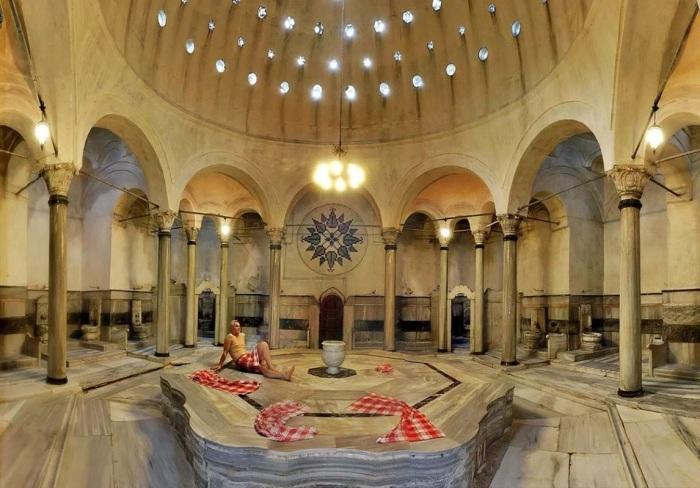 Турецкая баня.  Фото: greca.co.