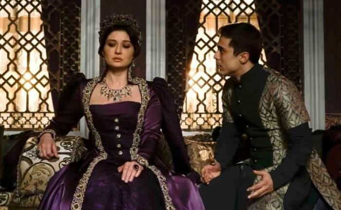 Кадр из сериала: Великолепный век, Кёсем султан. \ Фото: google.com.