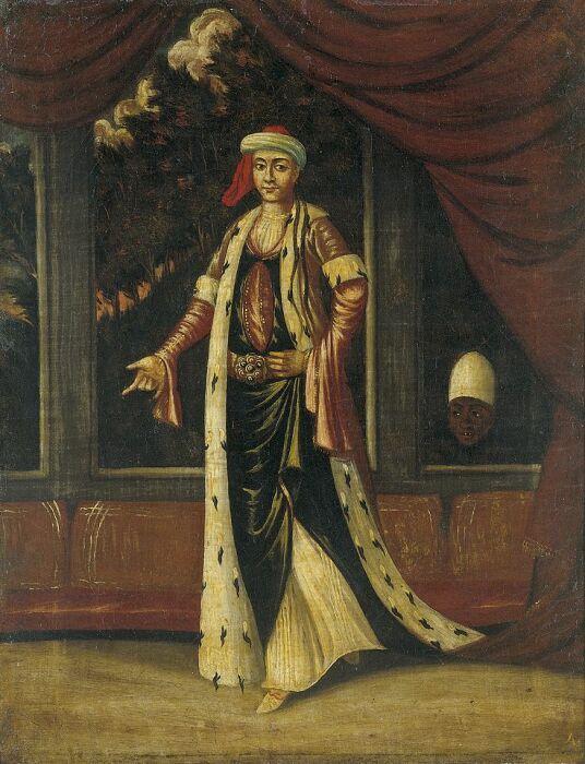 Эметуллах Рабия Гюльнуш-султан, Жан Батист Ванмор. \ Фото: pinterest.ru.