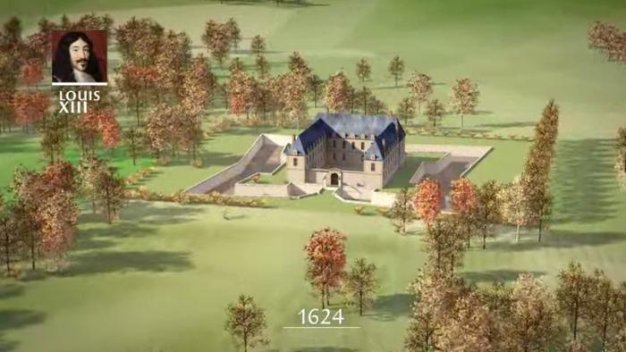Когда-то Версаль был охотничьим домиком.