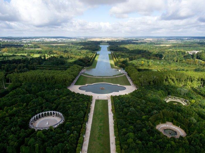 Водный канал Версаля.
