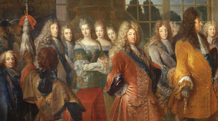 Для прогулок по садам Версаля соблюдался дресс-код.