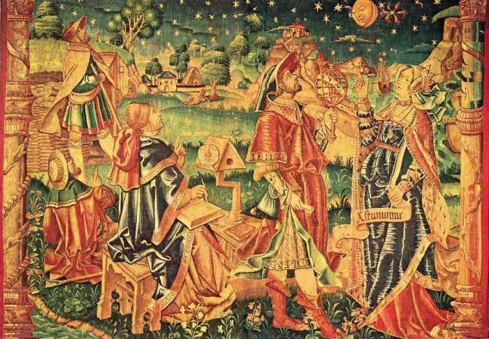 Астрология в средневековье. \ Фото: mateturismo.wordpress.com.