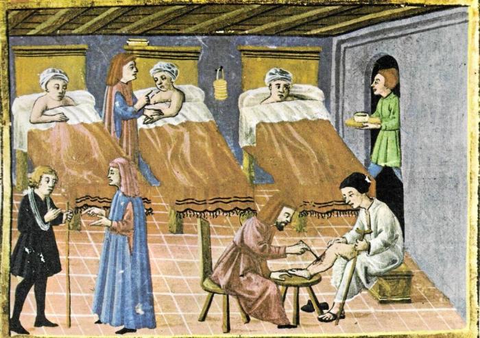 Госпитали в средневековье \ Фото: projecthospitalis.net.