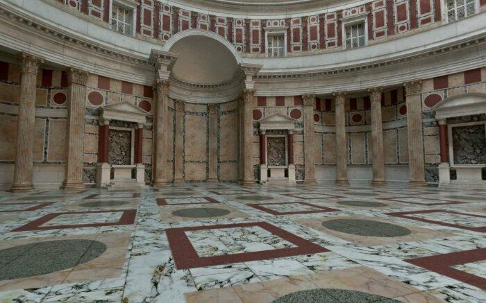 Деталь интерьера Пантеона. \ Фото: medium-sahzenem.com.
