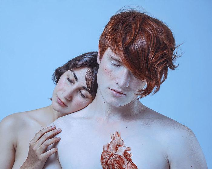 Сердце. Автор: Paola Rojas Н.