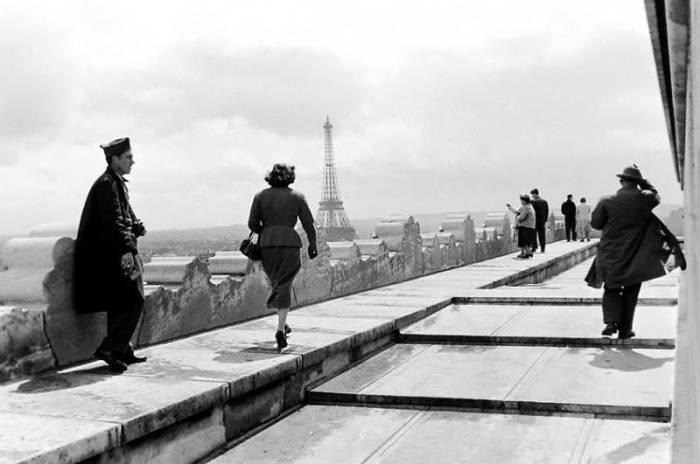 В первый раз я увидел Париж. Автор: Peter Miller.