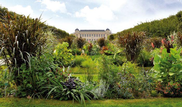Один из самых роскошных садов Парижа. \ Фото: pinterest.com.