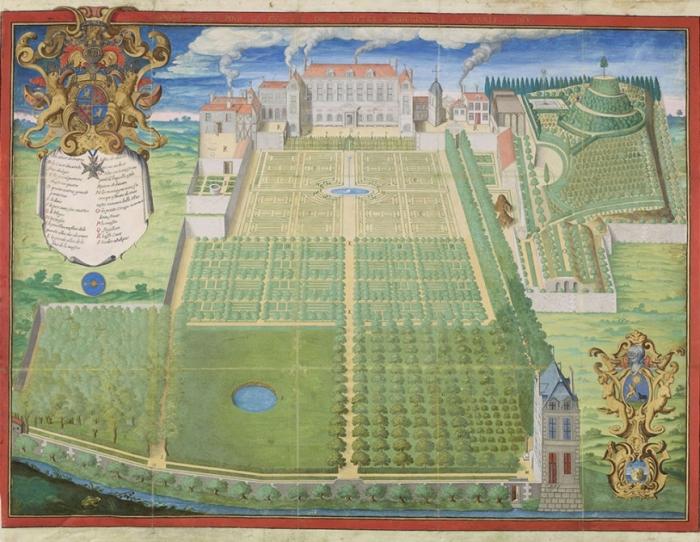 Сад для выращивания лекарственных растений в Париже, 1636 год. \ Фото: jardindesplantesdeparis.fr.