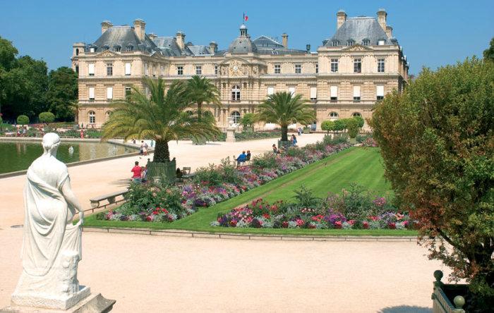 Люксембургский сад. \ Фото: en.parisinfo.com.