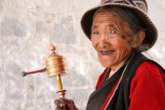 Тибетская красавица. Автор: Pascal Mannaerts.