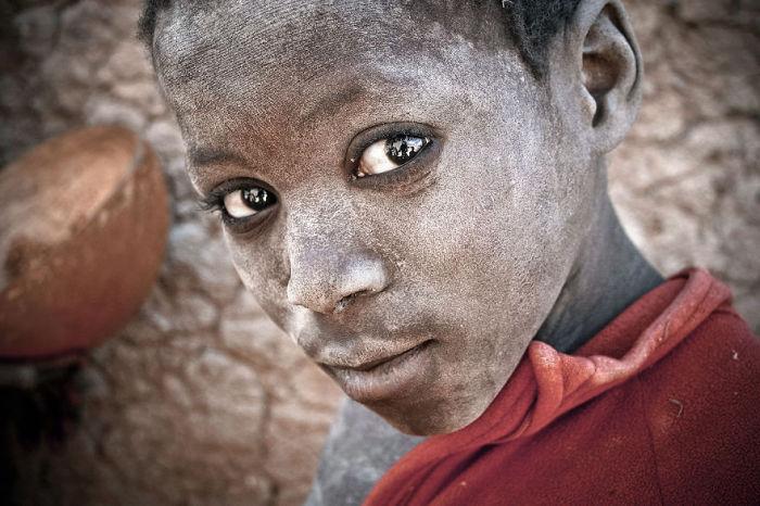 Ребёнок из Дженне, Мали. Автор: Pascal Mannaerts.