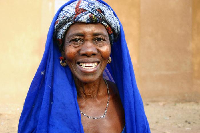 Жительница Сенегала. Автор: Pascal Mannaerts.