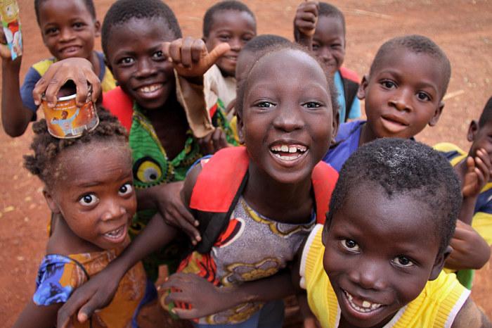 Дети из Буркина-Фасо. Автор: Pascal Mannaerts.