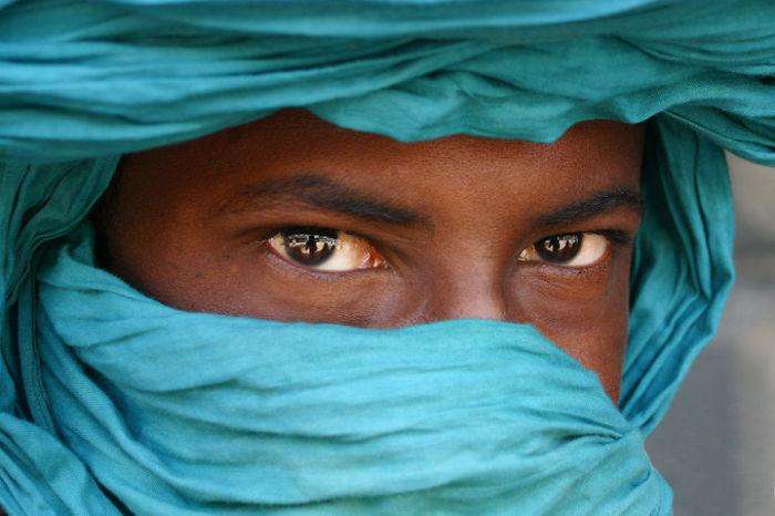 Африканский житель. Автор: Pascal Mannaerts.