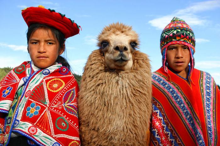 Дети в Куско, Перу. Автор: Pascal Mannaerts.